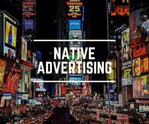 De indrukwekkende werking van native advertising